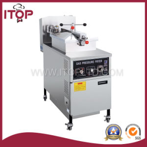 Mechanical Panel Gas Pressure Fryer (MDXZ-25) pictures & photos