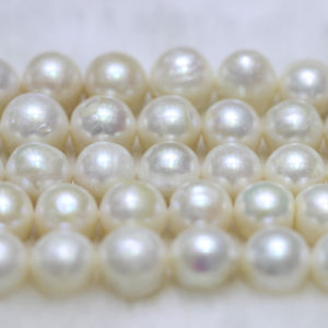 12-15mm a+ Large Round Natural Freshwater Pearl Strands E180004 pictures & photos