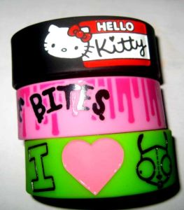 Screen Printing Wristbands Cheap Price for Prmotional Gifts pictures & photos