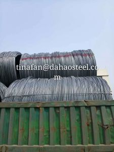 Non-Alloy SAE1008 Steel Wire Rod Made in China pictures & photos