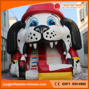 2017 High Quality 0.55mm PVC Tarpaulin Inflatable Partrol Dog Slide (T4-690) pictures & photos