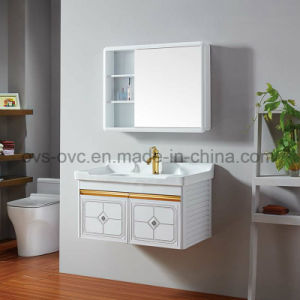 Modern Bathroom Vanitry Aluminium Bathroom Cabinet with Mirror pictures & photos