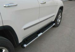 Chrome Side Bumper for Grand Cherokee 2011
