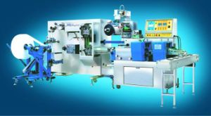 4-Side Sealing Single PC Wet Wipe Tissue Making Machine Price pictures & photos