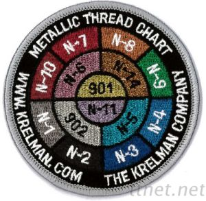 Embroidered Emblem with Special Function & Material, Glow in The Dark, Patch, Emblem pictures & photos