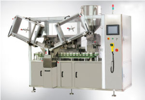 Double Heads Tube Filling and Sealing Machine