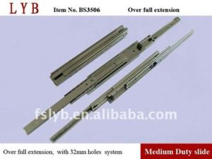 35mm Over Extension Ball Bearing Drawer Slide pictures & photos