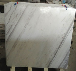 Italy Volakas White Marble, Marble Floor Tile pictures & photos