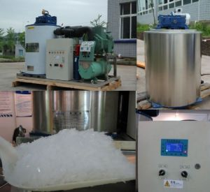 3tons/24hrs Flake Ice Machine From Lagos Warehouse pictures & photos