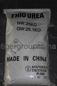 High Quality Thiourea White Crystal Powder pictures & photos