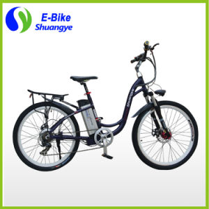 Shuanye Factory Ladies 36V Electric Bicycle pictures & photos