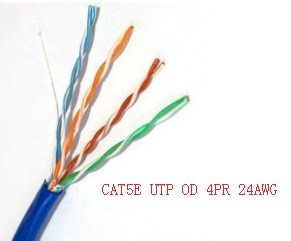 305m/Box 1000FT RoHS/Fluke Pass UTP Cat5e Network Cable pictures & photos
