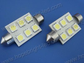 5050SMD LED Auto Lamp (F4106X-5050SMD), LED Festoon Lights, LED Car Light