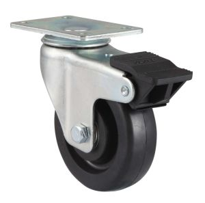 Threaded Stem Rubber Caster(Black) pictures & photos