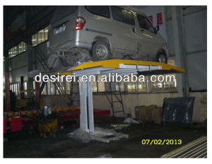Mechanical Single Post Home Car Parking Lift