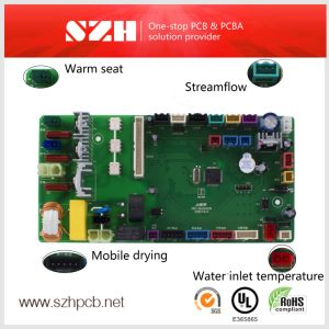 2layers 1.6mm 1oz Automatic Bidet PCB Board pictures & photos