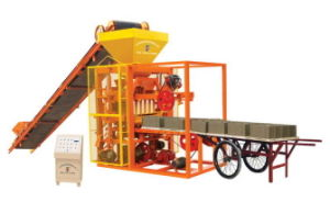 Semi-Automatic Brick Making Machine (QTJ4-26A) pictures & photos