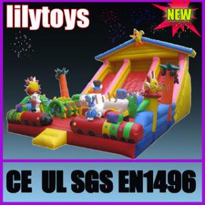 Inflatable Slide/Inflatable Amusement Park (Funcity-0811) pictures & photos