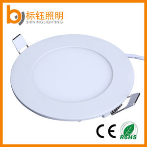 Indoor Lighting Lamp Ceiling Flush Mount 6W LED Round Panel Light AC85-265V pictures & photos