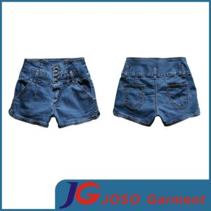 Women High Waist Denim Shorts (JC6062) pictures & photos