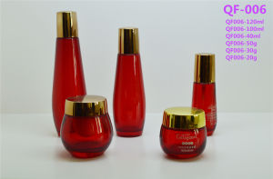 Lotion Pump Spray Colors Cosmetic Plastic Products Bottles Qf-006 pictures & photos