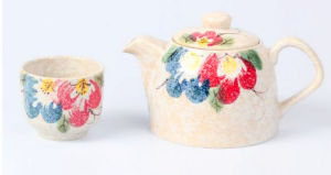 Popular design in Market Ceramic Tea Pot Set pictures & photos
