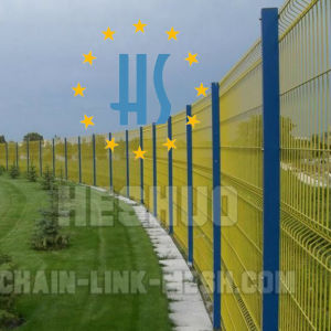 Galvanized&PVC Coated Welded Mesh Fence pictures & photos