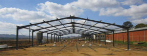Mali Steel Construction High Standard Industrial Steel Buildings Design and Fabrication (BR00048)