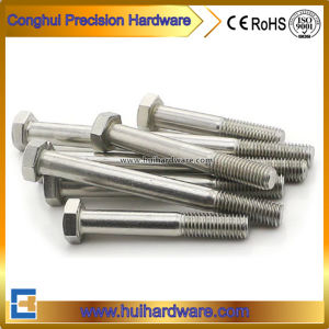 DIN931 Stainless Steel304/316 Hex Head Bolts pictures & photos