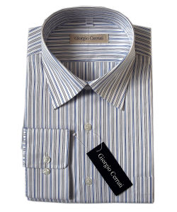 Men′s Cotton Dress Shirts (PL-M-SHT013)