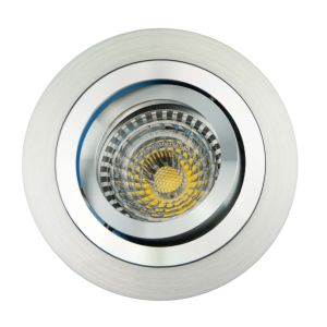 Lathe Aluminum GU10 MR16 Round Tilt Recessed Downlight (LT2300) pictures & photos