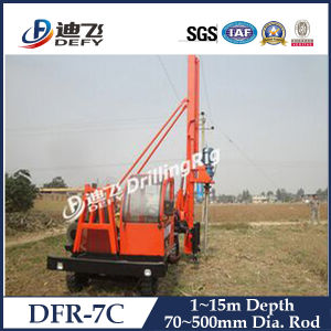 Hot Sale PV Post Small Pile Driver Machinery pictures & photos