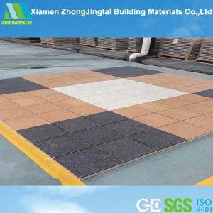 Walkway Wear-Resistance Non-Slip Rubber Tile Paving Brick pictures & photos