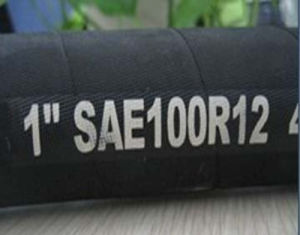 DIN En 856 SAE100 R12 High Pressure Hydraulic Hose pictures & photos