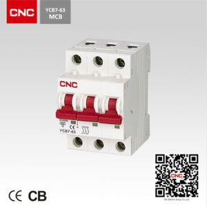 Miniature Circuit Breaker (YCB7-3P) pictures & photos