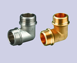 High Quality 90 Degree Brass Elbow Fitting Male