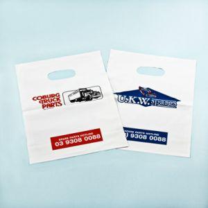 LDPE Plastic Die Cut Bag, Patch Handle Bag (ML-DI-05) pictures & photos