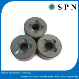 Permanent Ferrite Sintered Magnet Rings for Industry Motor with High Performance pictures & photos