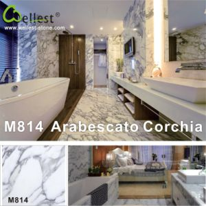 Natural Stone Arabescato White Marble for Interior Flooring/Wall Tile pictures & photos