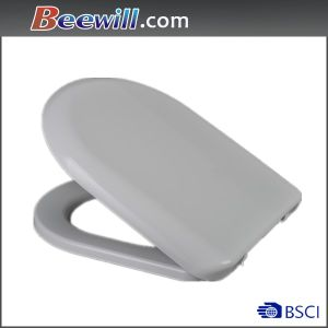 D Shape Quick Release Bathroom Toilet Seat Lid pictures & photos
