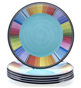 Hot Sale Global Melamine Dinner Plate Dinnerware pictures & photos