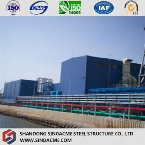 Steel Frame Structure Main Workshop for Power Plant pictures & photos