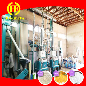 Specially for Kenya Market of 15t/D Maize Milling Machine pictures & photos