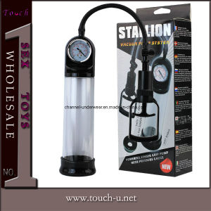 Strong Men Penis Enlargement Pump Sex Toy for Male (TYLG009) pictures & photos