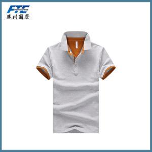 Custom Plain Polo T-Shirt 100% Cotton for Man pictures & photos