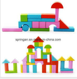 50 PCS Geometric Shape Building Blocks Toys DIY pictures & photos