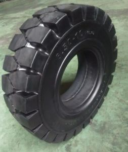 High Quality OTR Tire Inudstrial Tire Solid Tire 14.00-24 14.00-20 pictures & photos