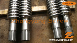 PVC Profile Conical Double Screw and Barrel pictures & photos