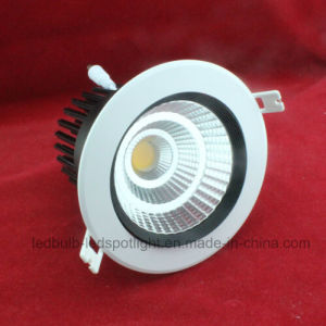 CE Certified 3W/5W/10W/15W/20W/25W/30W/40W LED Downlight (COB) pictures & photos