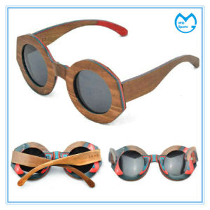 Promotional Handmade Shwood Eyewear Wooden Sunglasses pictures & photos